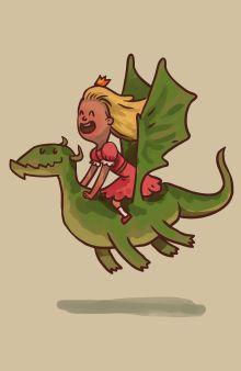 Блокнот для записей Королева драконов А5