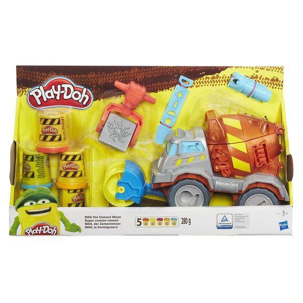 """Play-Doh Игровой набор """"Задорный Цементовоз Вова"""" (B1858) PLAY-DOH"""