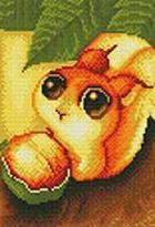 - Мозаика на подрамнике. Белочка с орешком (131-ST-R) обложка книги