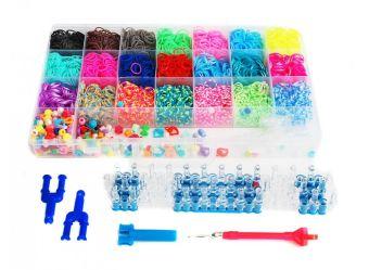 Наборы для плетения. Набор резиночек (4400 шт) Фантазия (365-RB)