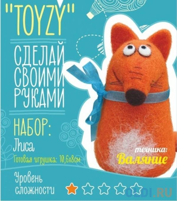 """Набор TOYZY """"Лиса"""" Валяние Начальный"""