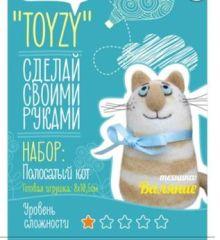 - Набор TOYZY Полосатый кот Валяние Начальный обложка книги