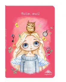 - Блокнот. Ангел. Hello, owl! обложка книги
