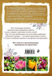 Обложка сзади Календарь работ в саду, огороде, цветнике от Октябрины Ганичкиной Октябрина Ганичкина, Александр Ганичкин