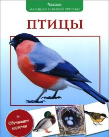 Вишневский В.А. - Птицы. (Малышам о живой природе) обложка книги