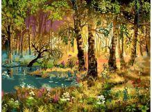 - 066-AS Утро в лесу обложка книги
