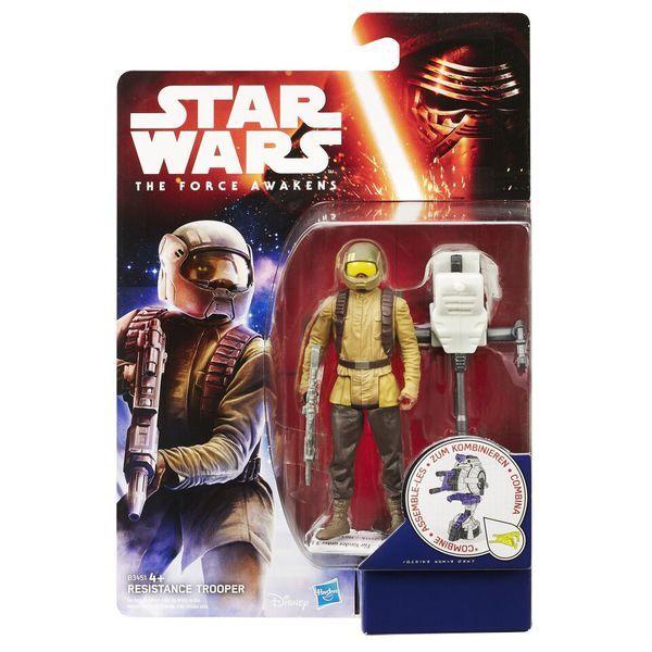 Star Wars Фигурка Звездных войн 9,5 см (Миссия в джунглях/ Космическая миссия)  (B3445)