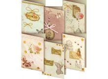 - Наборы для скрапбукинга. Набор для создания 6-ти мини открыток Бутоньерка (200-SB) обложка книги