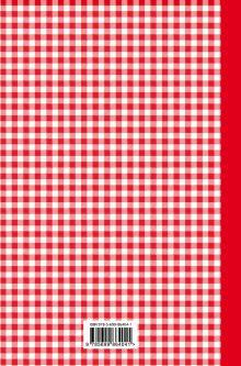 Обложка сзади Книга для записи любимых рецептов (красная клеточка) а5