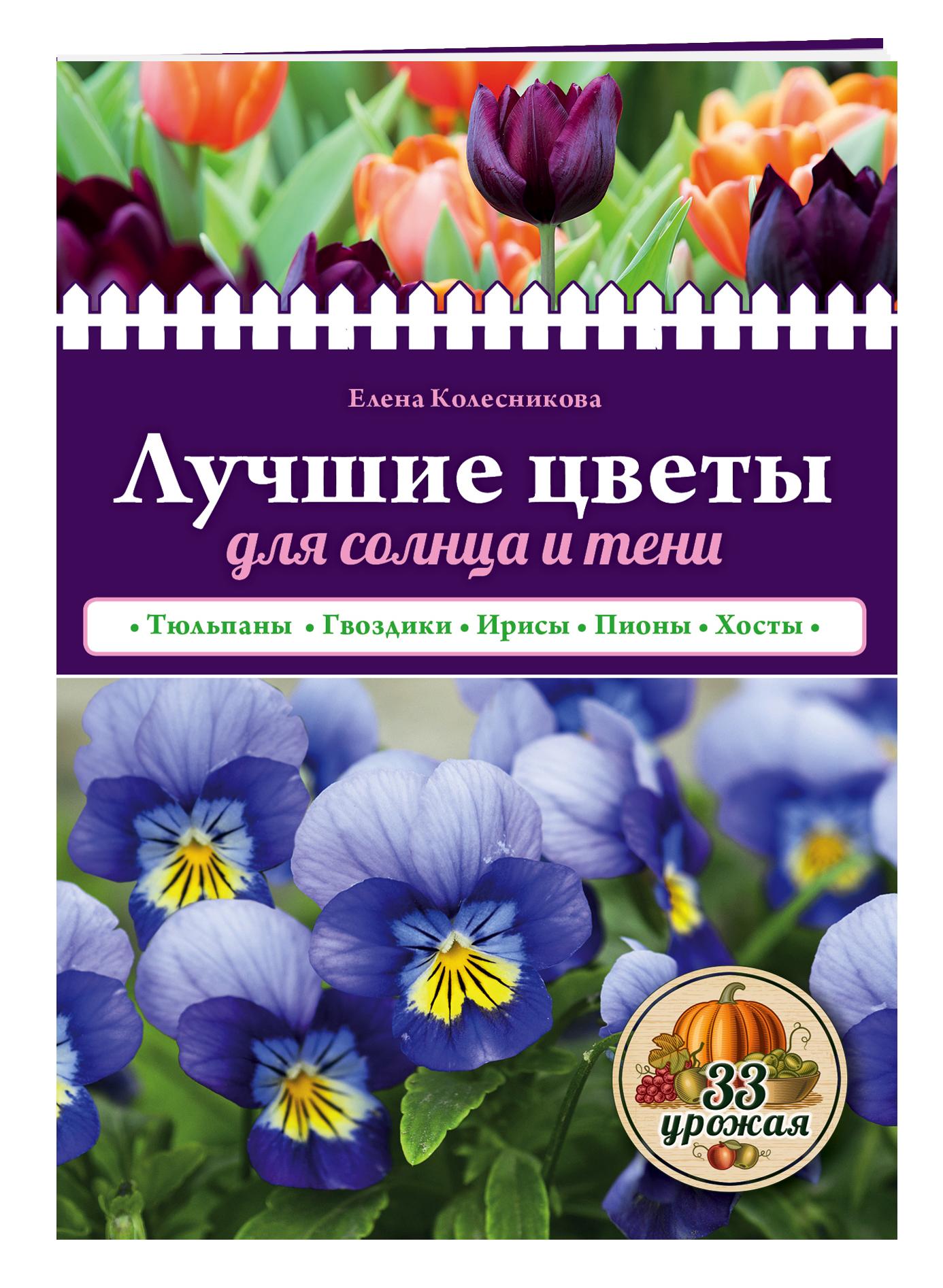 Лучшие цветы для солнца и тени ( Колесникова Е.Г.  )