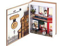 - Декор. Набор для создания миниатюры Пражское кафе (005-B) обложка книги