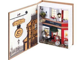"""Декор. Набор для создания миниатюры """"Пражское кафе"""" (005-B)"""