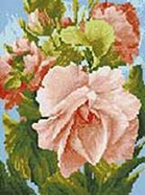 Мозаика на подрамнике. Роза (224-ST-S)