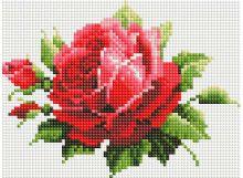 - Мозаичные картины. Мерцающая роза (051-ST-PS) обложка книги