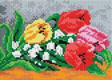- Мозаичные картины. Тюльпаны и ландыши (207-ST-PS) обложка книги