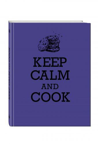 Книга для записи рецептов. KEEP CALM and COOK
