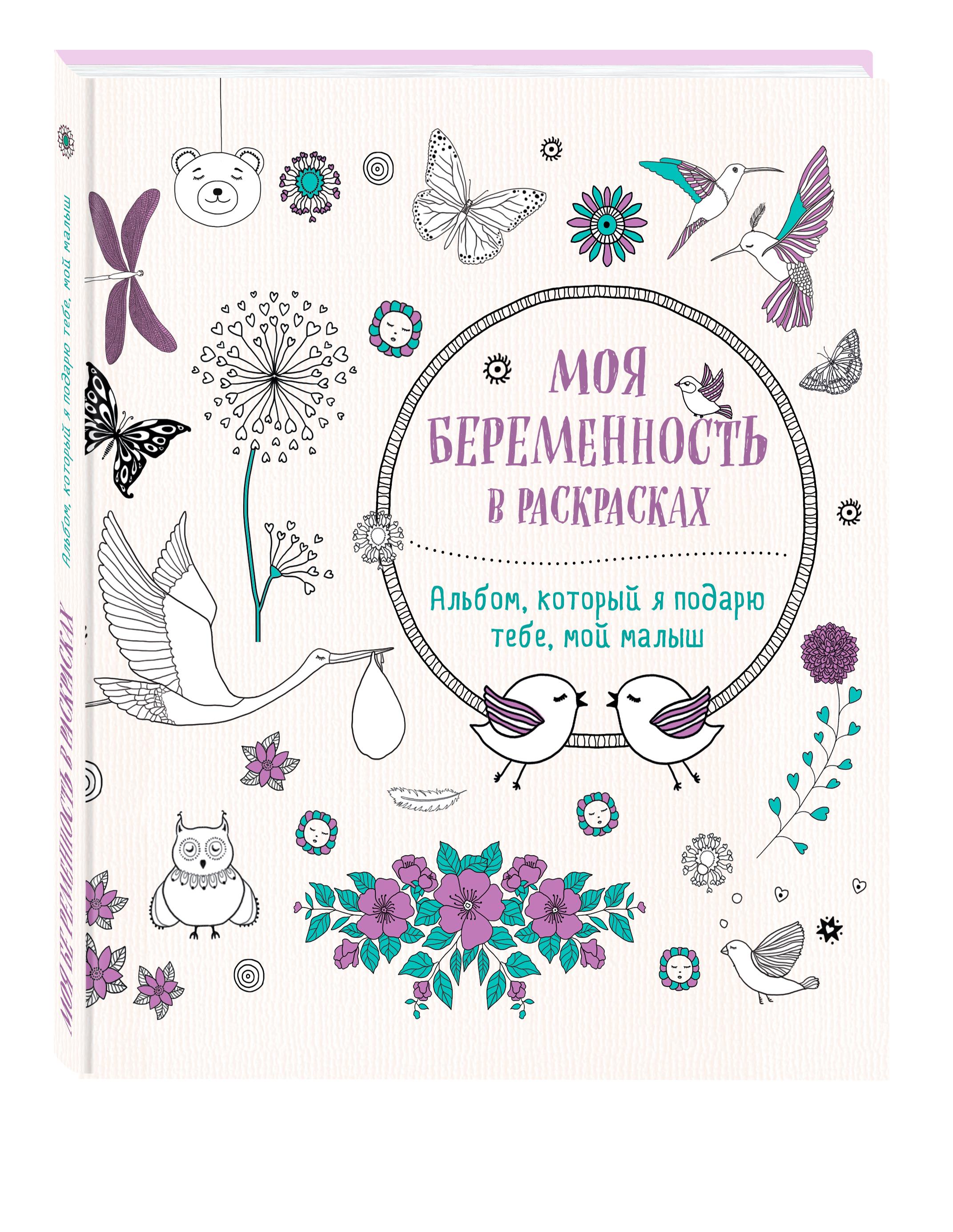Жанна дэ Ардуан, Виолет Б Моя беременность в раскрасках. Альбом, который я подарю тебе, мой малыш (переплет)