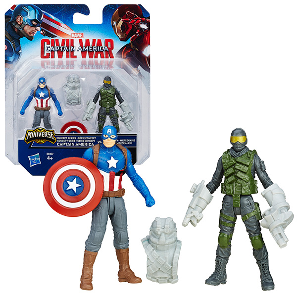 Avengers Набор из 2 фигурок Мстителей (B5768)