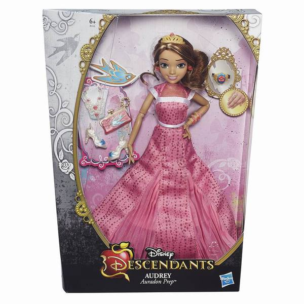 DISNEY DESCENDANTS Светлые герои в платьях для коронации (B3123EU4)