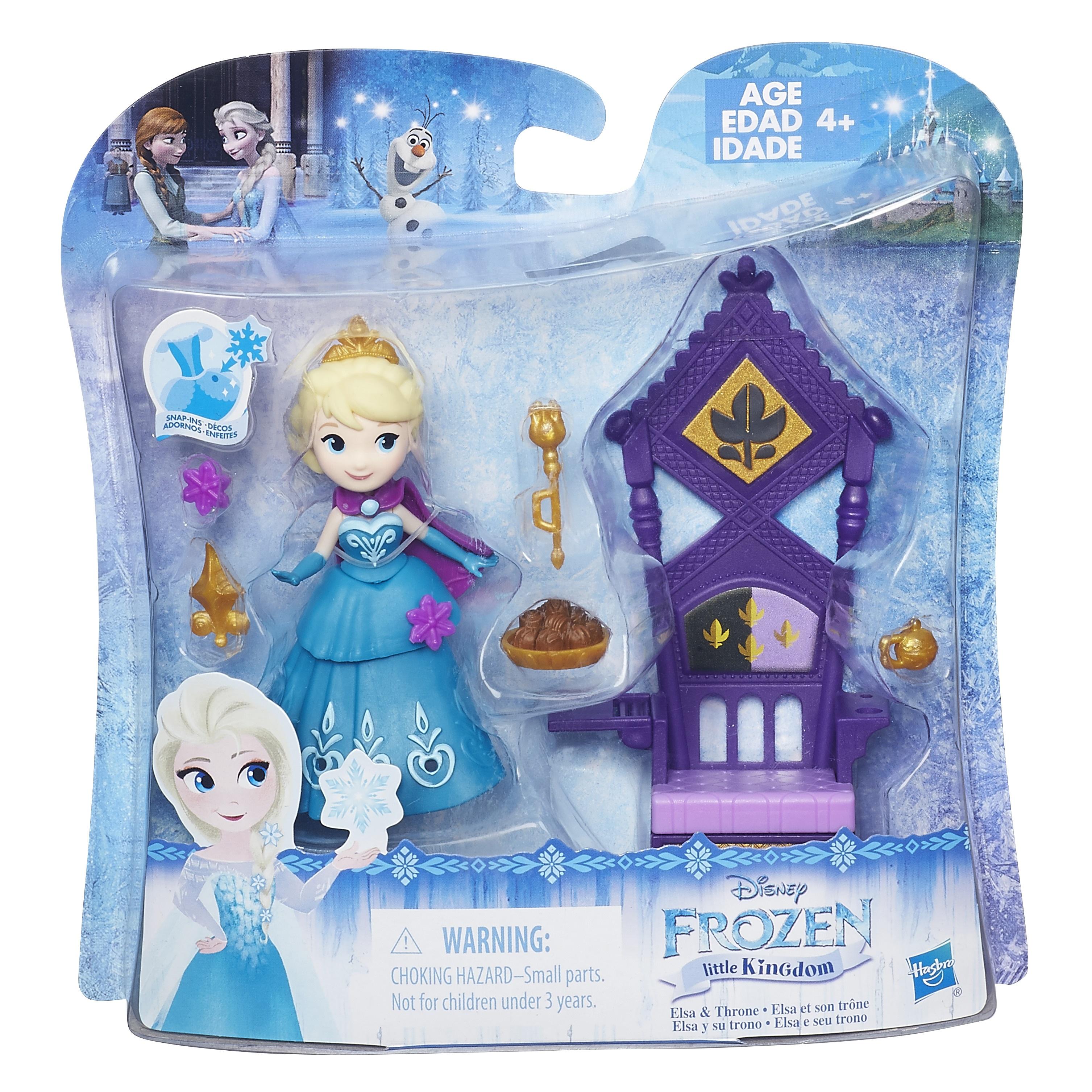 DISNEY FROZEN Игровой набор маленькие куклы Холодное сердце с аксессуарами в ассорт. (B5188EU4)