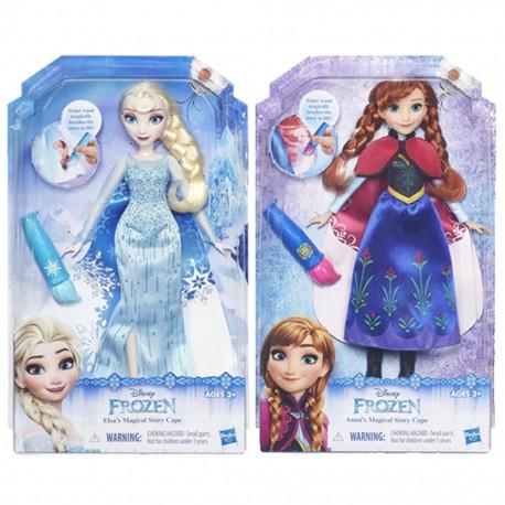 DISNEY FROZEN Модная  кукла Холодное Сердце в наряде с проявляющимся рисунком в ассорт. (B6699EU4)