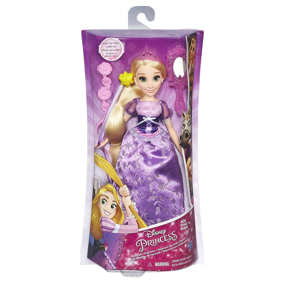 DISNEY PRINCESS Базовая  кукла Принцесса в с длинными волосами и аксессуарами в ассорт. (B5292)