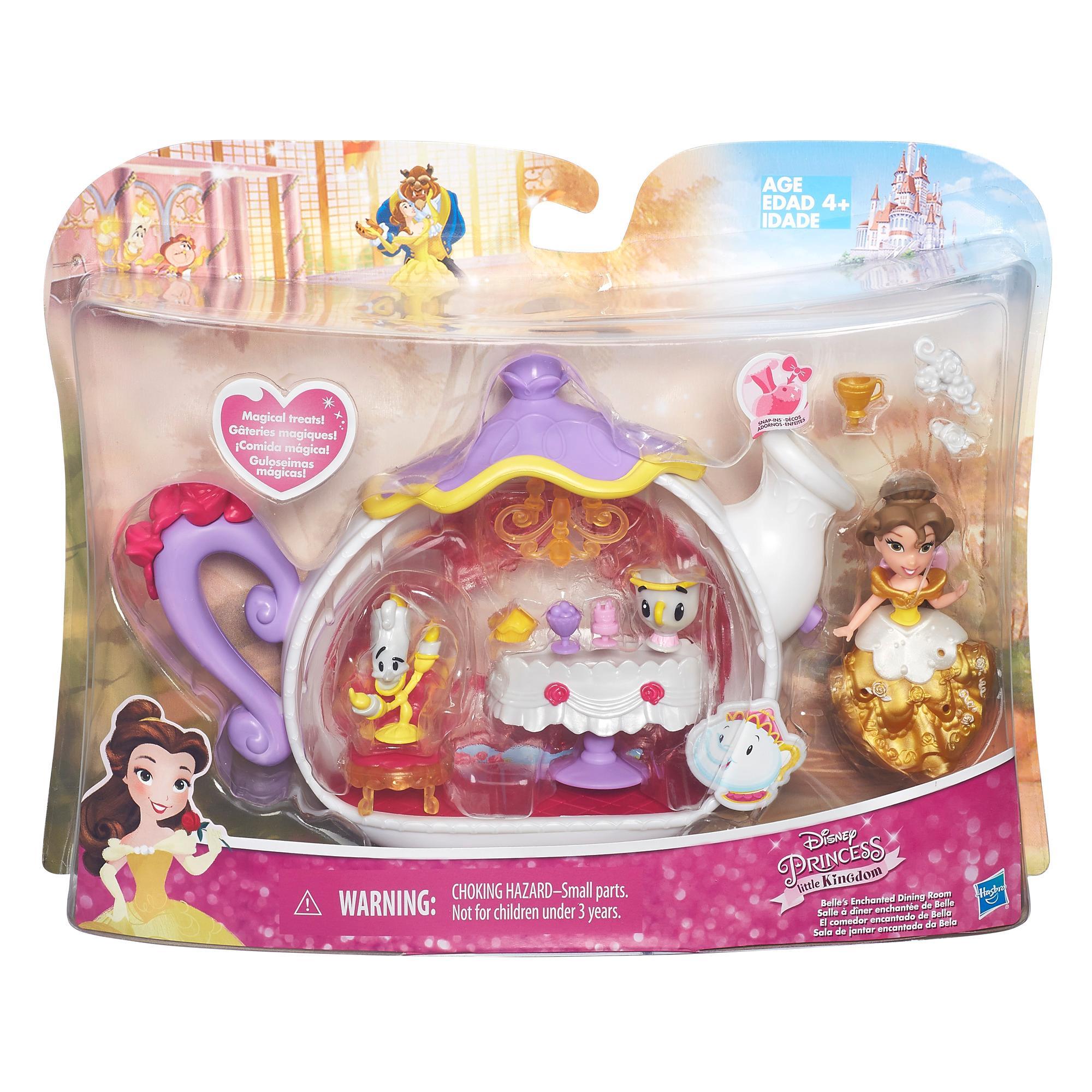 DISNEY PRINCESS Игровой набор для маленьких  кукол Принцесс в ассорт. (B5344)