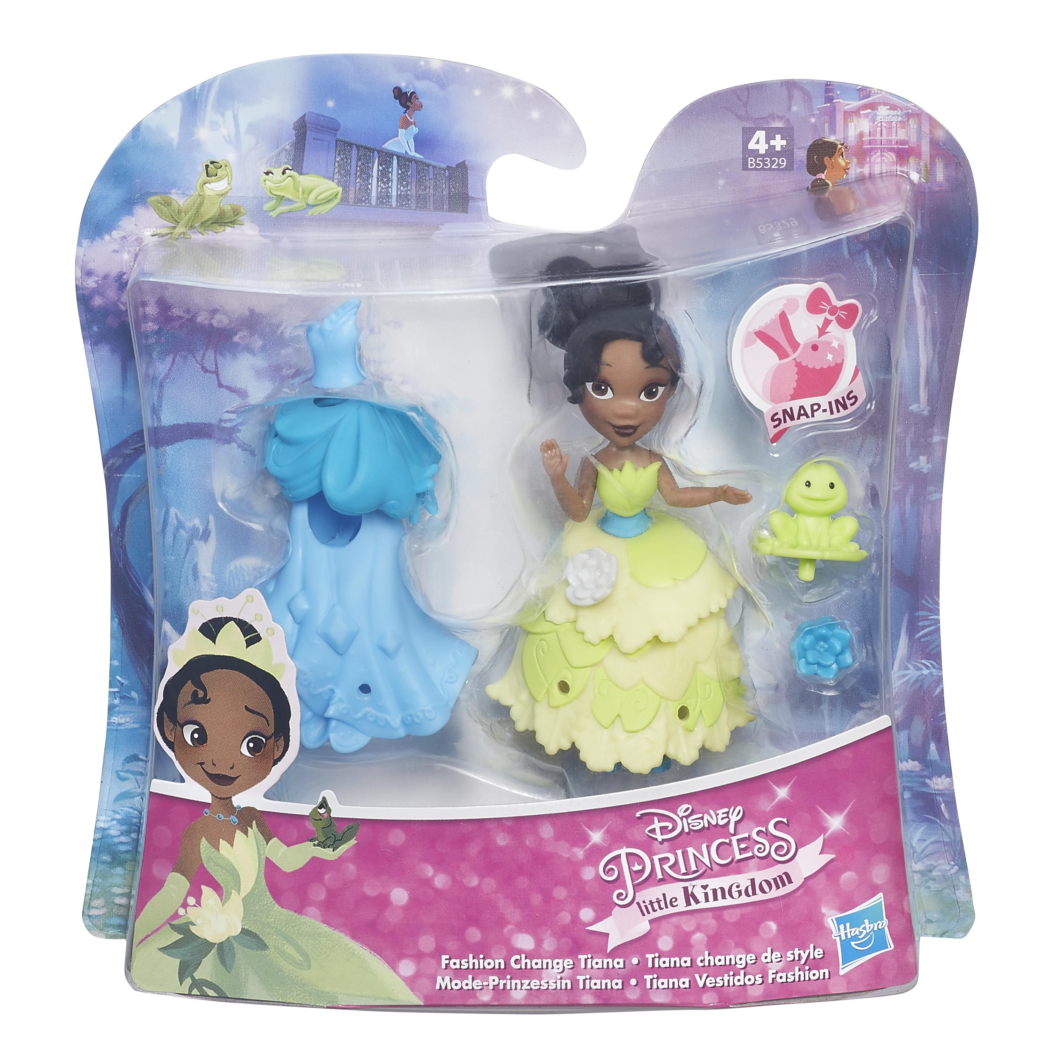 DISNEY PRINCESS Игровой набор маленькая кукла и модные аксессуары в ассорт. (B5327)