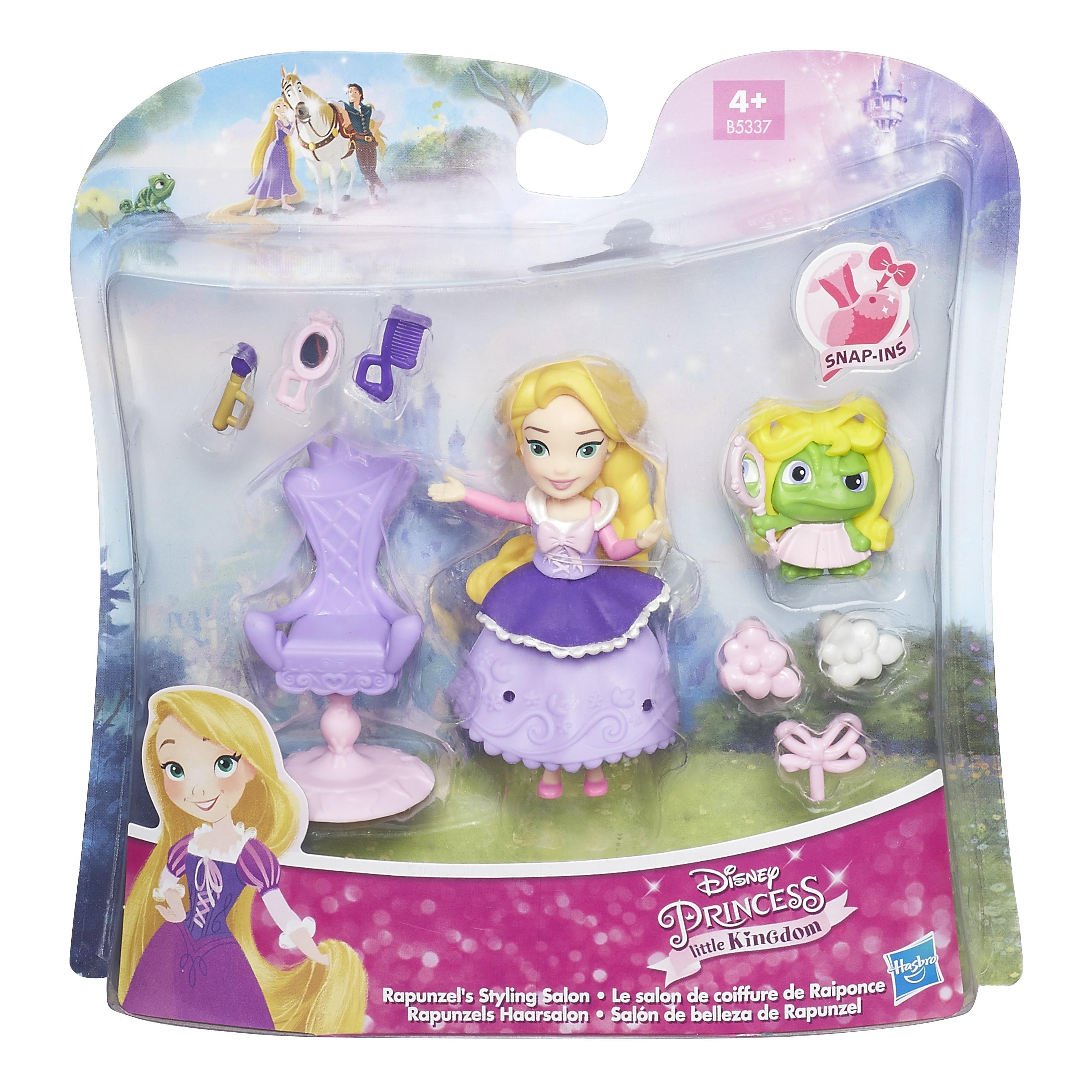 DISNEY PRINCESS Игровой набор маленькая кукла Принцесса  с аксессуарами в ассорт. (B5334EU4)