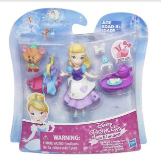 DISNEY PRINCESS Игровой набор маленькая кукла Принцесса и ее друг в ассорт. (B5331)