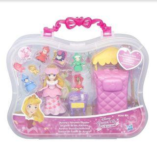 DISNEY PRINCESS Игровой набор маленькая кукла Принцесса и сцена из фильма в ассорт. (B5341EU4)