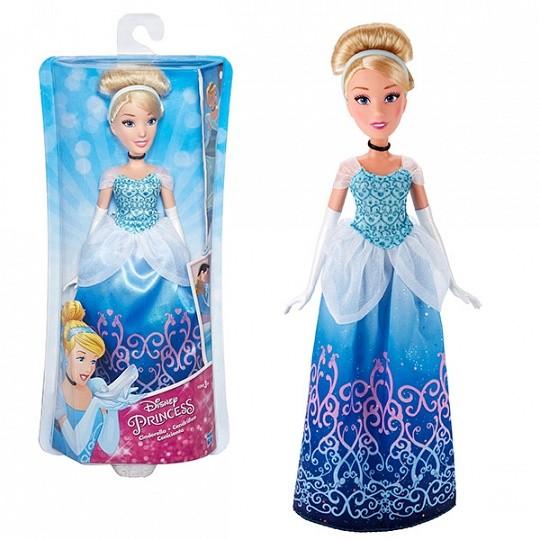 DISNEY PRINCESS Классическая модная кукла Принцесса. В ассортименте: Ариэль, Золушка и Рапунцель (B5284)