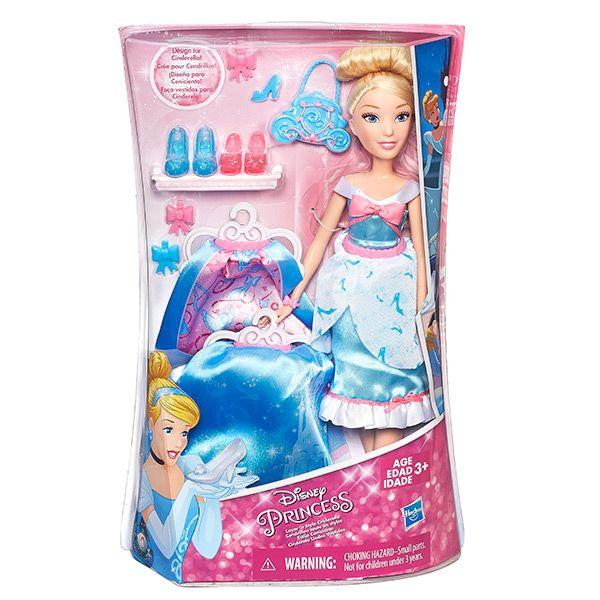DISNEY PRINCESS Модная кукла Принцесса в  платье со сменными юбками в ассорт. (B5312EU4)