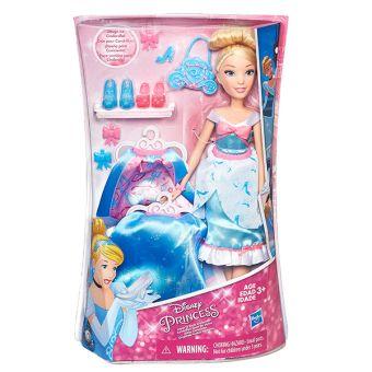DISNEY PRINCESS Модная кукла Принцесса в  платье со сменными юбками в ассорт. (B5312EU4) DISNEY PRINCESS