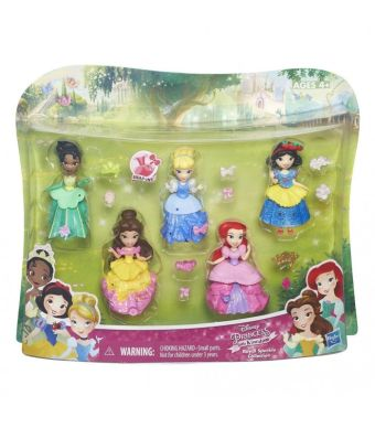 DISNEY PRINCESS Набор из 5ти маленьких кукол Принцесс (B5347EU4) DISNEY PRINCESS