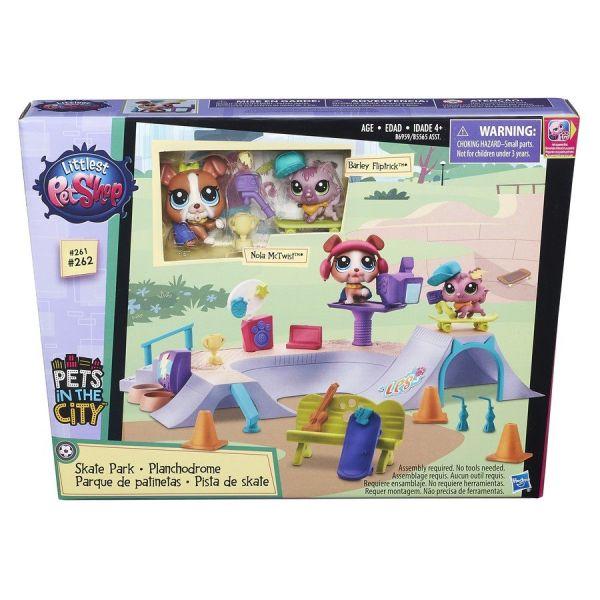 """Littlest Pet Shop Игровой набор """"Городские сценки"""" (в ассорт.) (B5565EU4)"""