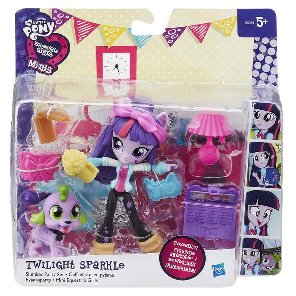 My Little Pony EQUESTRIA GIRLS мини-кукла с аксессуарами, в ассорт. (B4909)