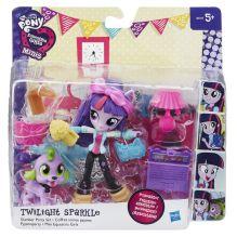MLP EQUESTRIA GIRLS - My Little Pony EQUESTRIA GIRLS мини-кукла с аксессуарами, в ассорт. (B4909) обложка книги