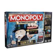 MONOPOLY - Монополия с банковскими картами (обновленная) (B6677121) обложка книги
