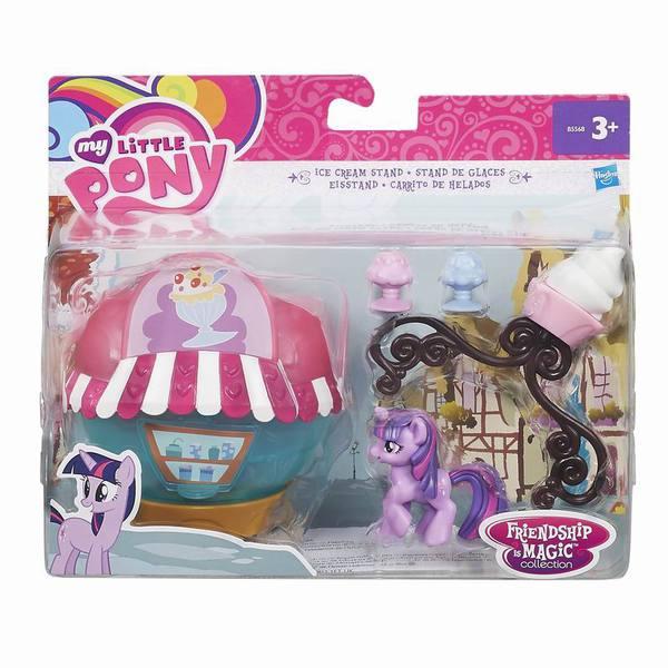 My Little Pony Коллекционный мини игровой набор пони (в ассорт.) (B3597EU4)