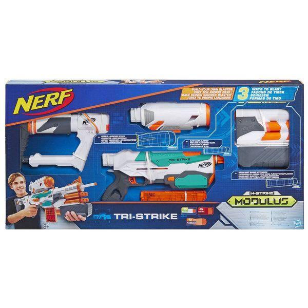 NERF МОДУЛУС Три-Страйк (бластер) (B5577EU4)