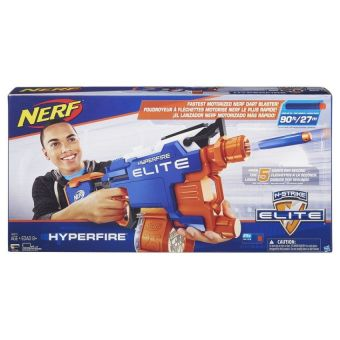 NERF ЭЛИТ Хайперфайр (бластер) (B5573EU4) NERF
