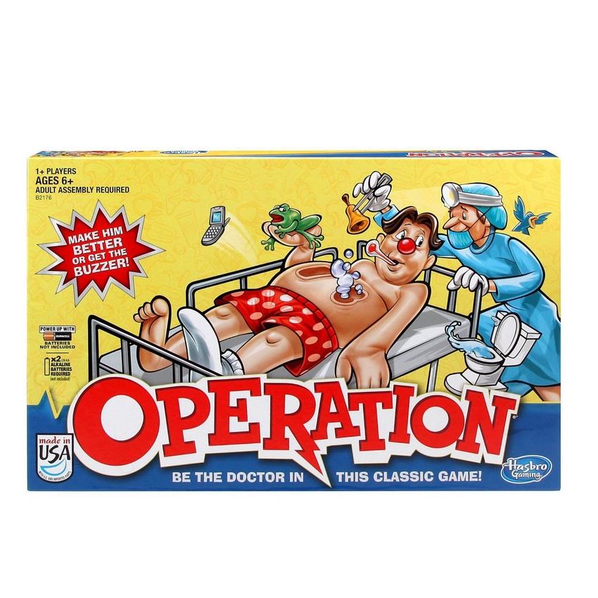 Игра Операция (обновленная) (Настольная игра)(B2176121)