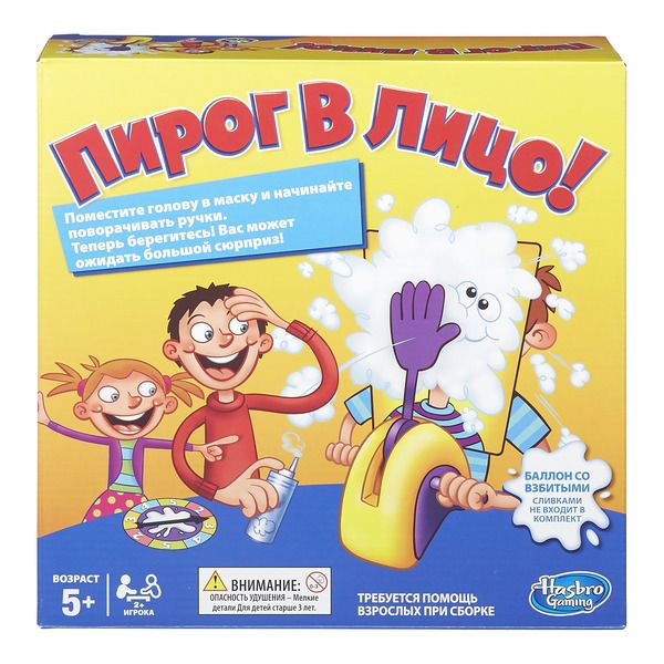 Игра Пирог в лицо (Настольная игра) (B7063) GAMES