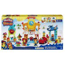 PLAY-DOH - Play-Doh Город Игровой набор Главная улица (B5868) обложка книги