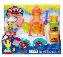 PLAY-DOH - Play-Doh Город Игровой набор Грузовичок с мороженым (B3417) обложка книги