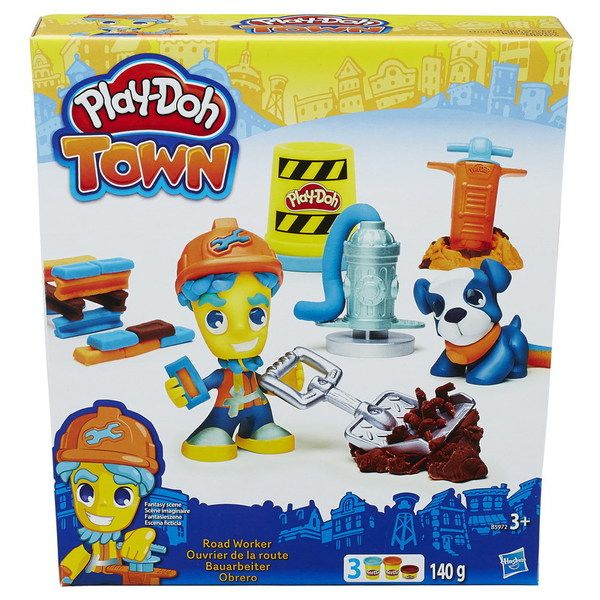 """Play-Doh Город Игровой набор """"Житель и питомец, в ассорт. (B3411EU4)"""