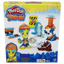 PLAY-DOH - Play-Doh Город Игровой набор Житель и питомец, в ассорт. (B3411) обложка книги