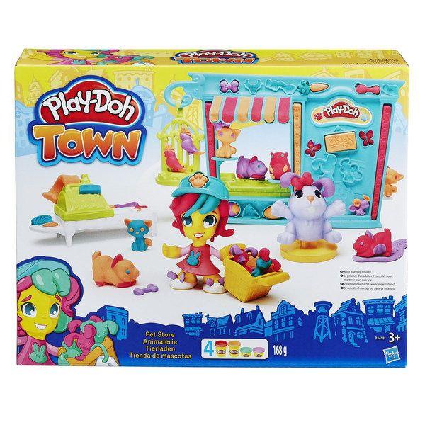 """Play-Doh Город Игровой набор """"Магазинчик домашних питомцев"""" (B3418)"""