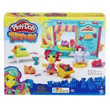 PLAY-DOH - Play-Doh Город Игровой набор Магазинчик домашних питомцев (B3418) обложка книги